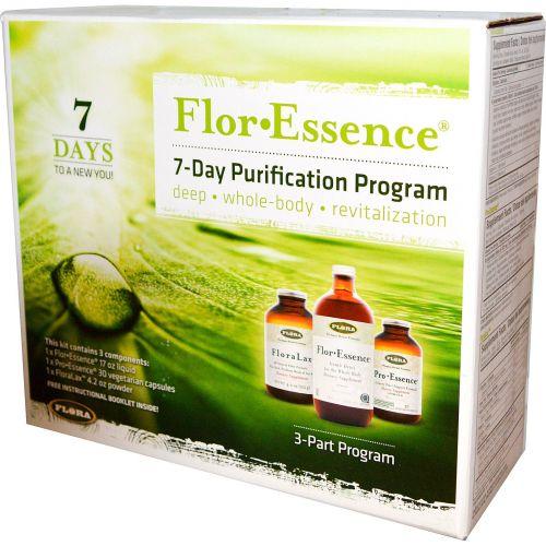 Flora, Flor·Essence, 7 дневная программа очищения, 3 средства