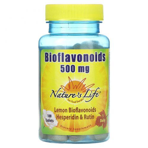 Nature's Life, Биофлавоноиды, 100 таблеток
