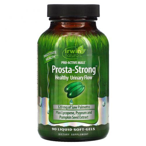 Irwin Naturals, Prosta-Strong, 90 мягких желатиновых капсул с жидкостью