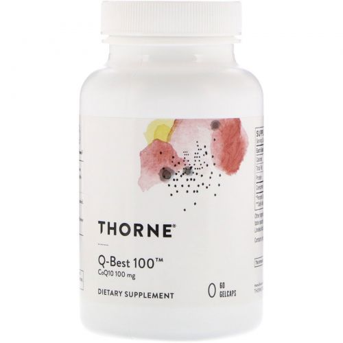 Thorne Research, Q-Best 100, 60 капсул
