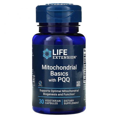 Life Extension, Митохондриальный комплекс с BioPQQ, 30 капсул