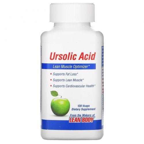 Labrada Nutrition, Урсоловая кислота, оптимизатор сухих мышц, 120 капсул