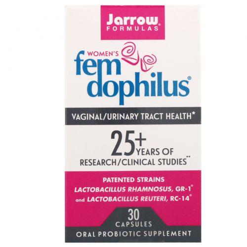 Jarrow Formulas, Fem Dophilus для женщин, 30 капсул (Ice)