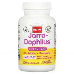 Jarrow Formulas, Jarro-дофилус + ФОС, 200 капсул (Ice)