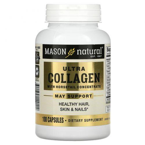Mason Naturals, Ультра коллагеновая формула для красоты, 100 капсул