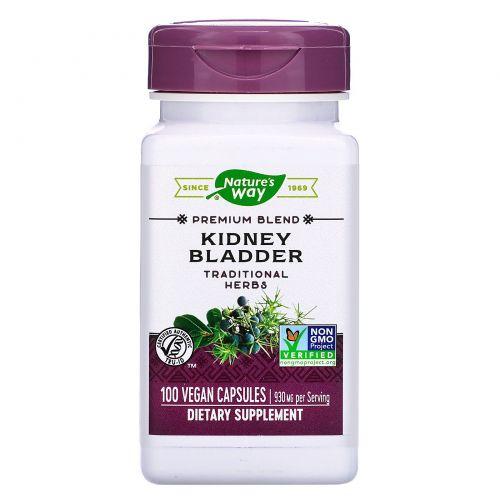 Nature's Way, Для почек и мочевго пузыря, 465 мг, 100 капсул