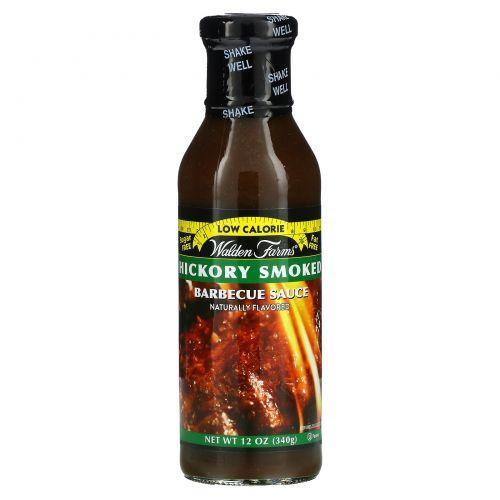 Walden Farms, Hickory Smoke Barbecue Sauce, 12 oz (340 g)