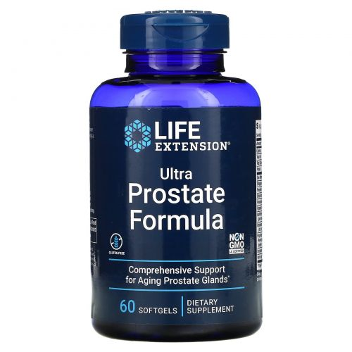 Life Extension, Ultra Natural Prostate, 60 капсул