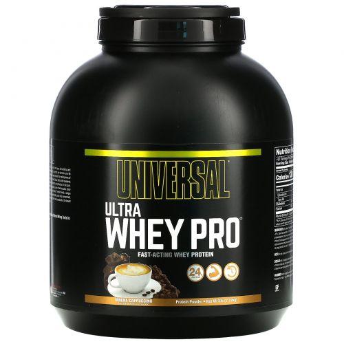 Universal Nutrition, Ultra Whey Pro, мокко капучино, 5 фунтов (2,27 кг)