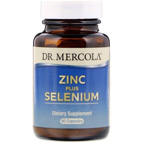 Dr. Mercola, Zinc plus Selenium, 90 Capsules