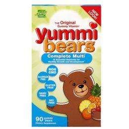 Hero Nutritional Products, Yummi Bears, комплекс поливитаминов, только натуральные фруктовые ароматизаторы, 90 вкусных жевательных мишек