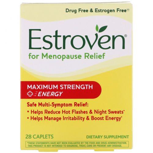 Estroven, Estroven, Максимальная сила + энергия, 28 капсул