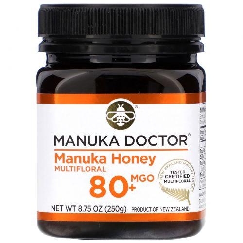 Manuka Doctor, 24+ биологически активный мед Манука, 250 г (8,75 унц.)