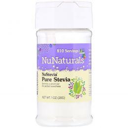 NuNaturals, NuStevia, чистый экстракт, 1 унция (28 г)