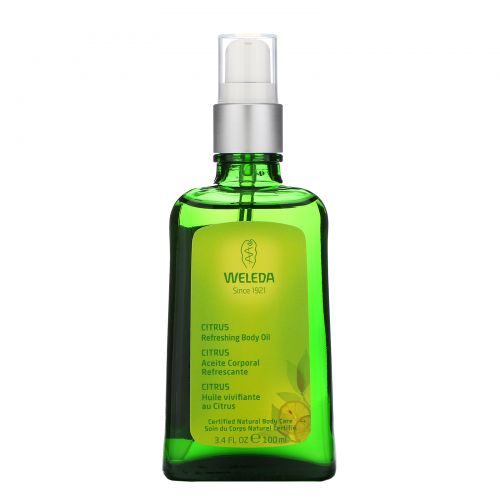 Weleda, Цитрусовое освежающий масло для тела 3.4 жидких унции (100 мл)