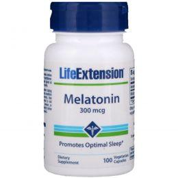 Life Extension, Мелатонин 100 овощных капсул