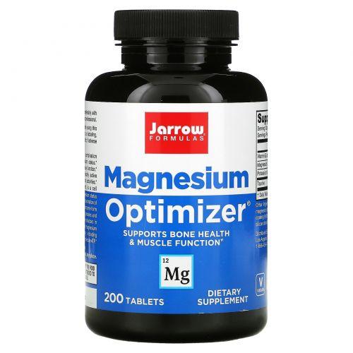 Jarrow Formulas, Оптимизатор магния, 200 таблеток