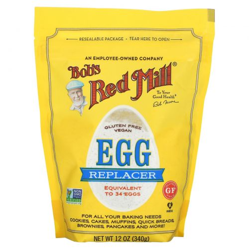 Bob's Red Mill, Заменитель яиц, 340 г (12 унций)