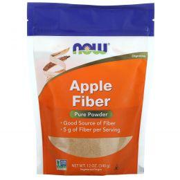 Now Foods,  Яблочная клетчатка, 12 унций (340 г)