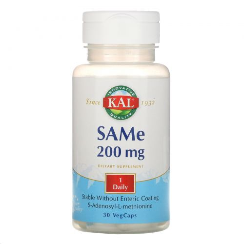 KAL, SAMe, 200 MG, 30 VegCaps