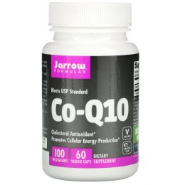 Jarrow Formulas, Co-Q10, 100 мг, 60 капсул