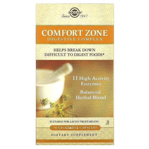 Solgar, Comfort Zone Digestive Complex, 90 Veg Caps