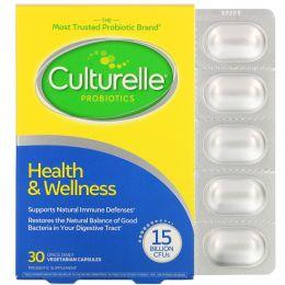 Culturelle, Здоровье и велнесс, ежедневная формула для поддержания иммунитета, 30 вегетарианских капсул