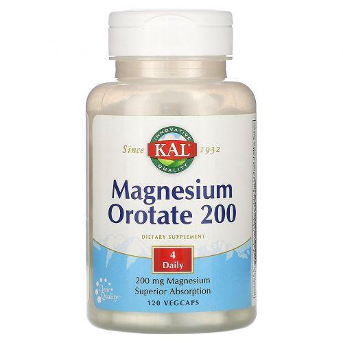 KAL, Оротат магния, 200 мг, 60 таблеток