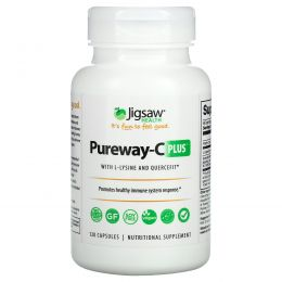 Jigsaw Health, Pureway-C Plus, 120 Capsules