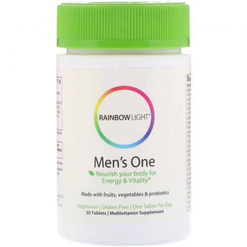 Rainbow Light, Men's One, 30 таблеток