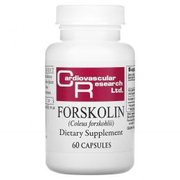 Cardiovascular Research Ltd., Форсколин, 60 капсул