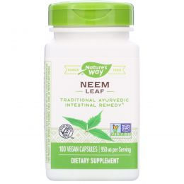 Nature's Way, Neem, Leaves, 100 капсул