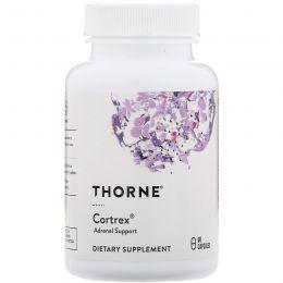 Thorne Research, Cortrex 60 овощных капсул