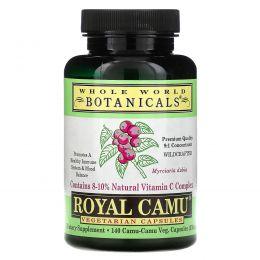Whole World Botanicals, Королевское каму-каму, 350 мг, 140 капсул на растительной основе