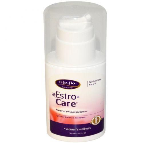 Life Flo Health, Эстрогеновый уход,  натуральные фитоэстрогены, 2 унции (57 г)