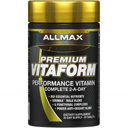 ALLMAX Nutrition, Vitaform, Complete Men's Multi-Vitamin & Minerals, 60 Tablets