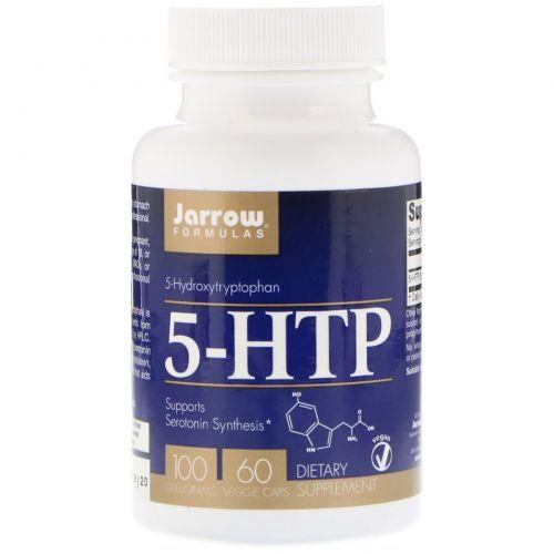Jarrow Formulas, 5-HTP, 100 mg, 60 Veggie Caps