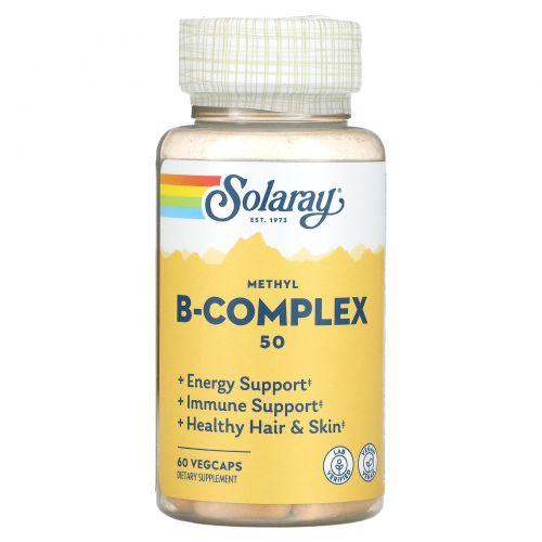 Solaray, Methyl B-Complex 50, 60 Veggie Caps