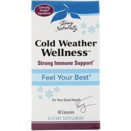 EuroPharma, Terry Naturally, Cold Weather Wellness, 60 Capsules