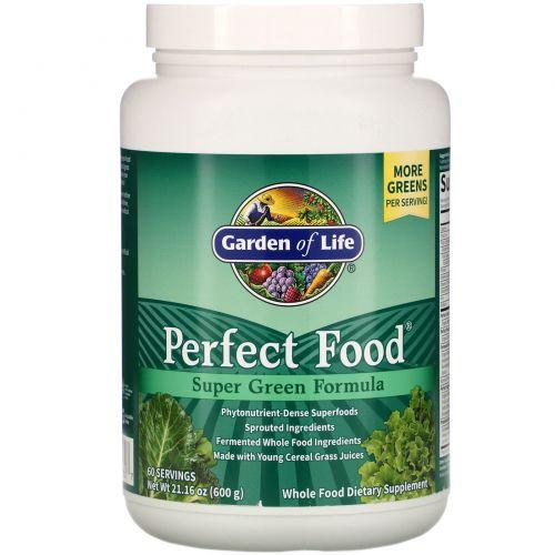 Garden of Life, Идеальная пища, супер-зеленая формула, 21.16 унций (600 г)