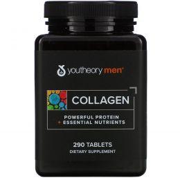 Youtheory, Активная коллагеновая формула для мужчин, 290 таблеток