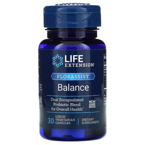 Life Extension, Флорассист, 30жидких вегетарианских капсул
