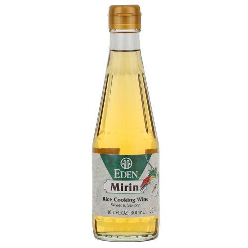 Eden Foods, Мирин, рисовое кулинарное вино, 10,5 жидких унций (300 мл)