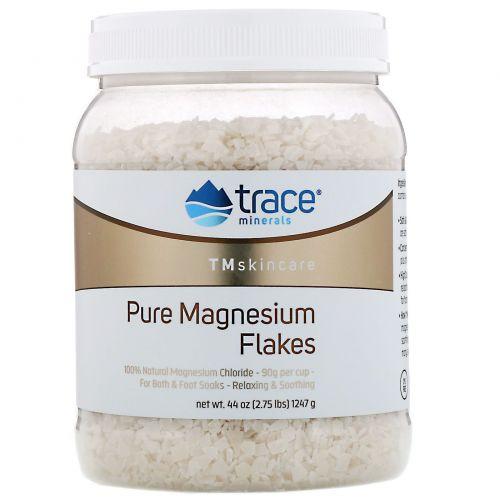 Trace Minerals Research, TM Skincare, хлопья чистого магния, 1247г (2,75фунта)
