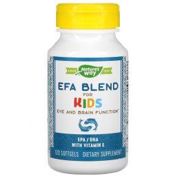 Nature's Way, Комплекс EFA для детей, 445 мг, 120 мягких капсул