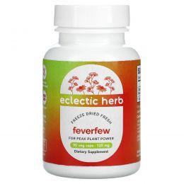 Eclectic Institute, Пиретрум девичий, 125 мг, 90 растительных капсул без ГМО