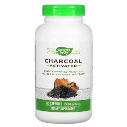 Nature's Way, Уголь, активированный, 280 мг, 360 капсул