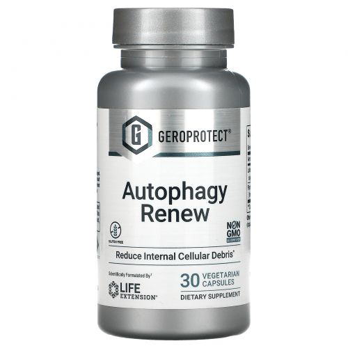 Life Extension, GeroProtect, Autophagy Renew, 30 Vegetarian Capsules