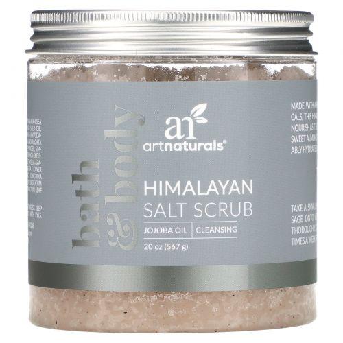 Artnaturals, Скраб с гималайской солью, 20 унц. (567 г)