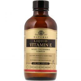 Solgar, Натуральный витамин E в жидкой форме, 4 жидкие унции (118,4 мл)